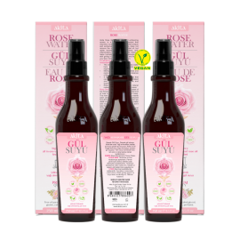 Akita Rose Water 3X250 mL